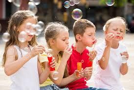 children bubbles