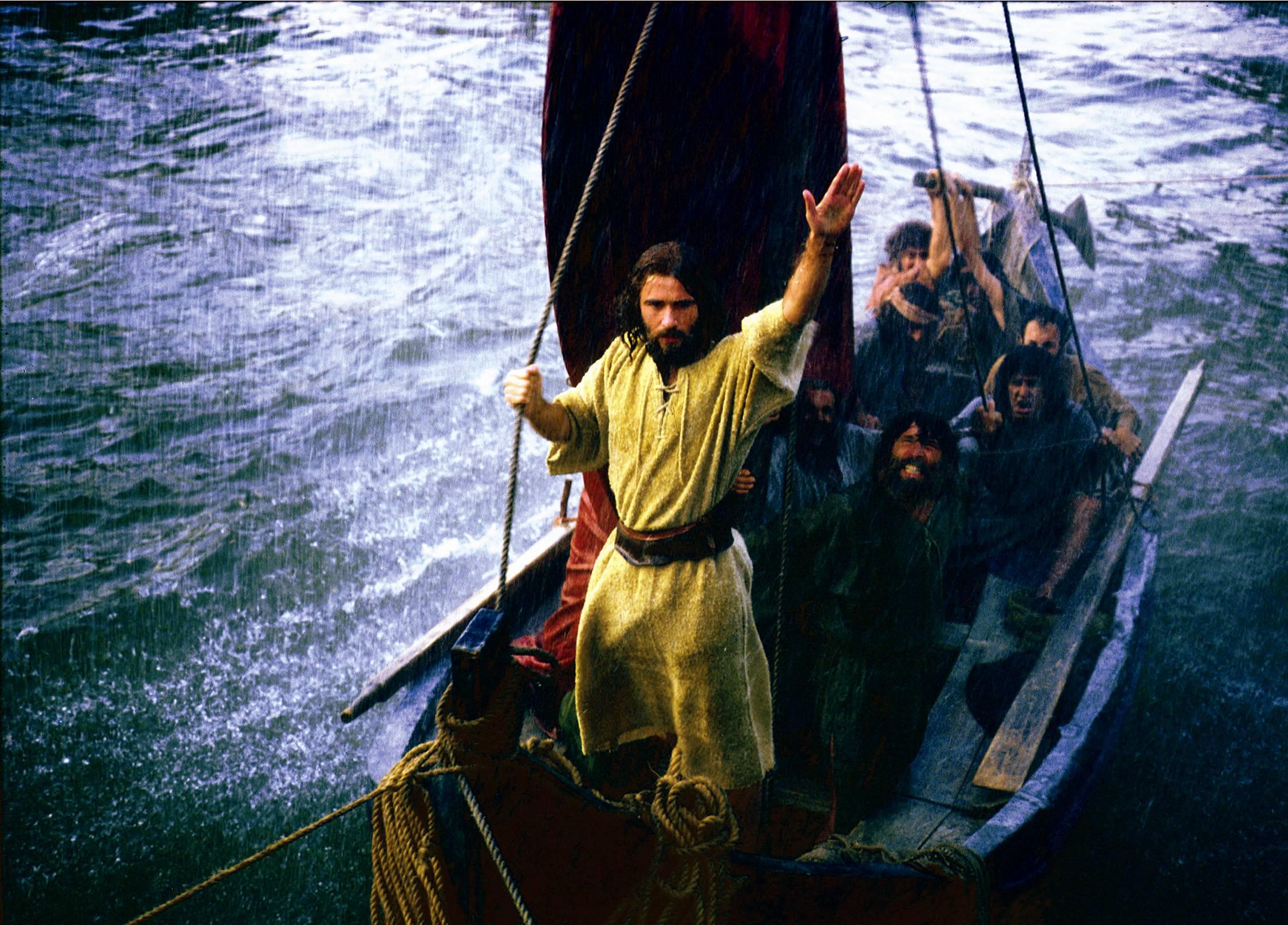 Message: Jesus in the Boat by , Luke 8:22-25