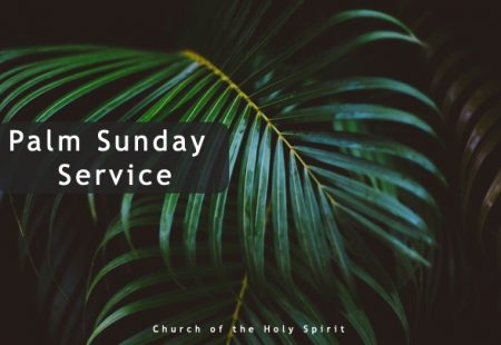 Palm Sunday COVID19 Lockdown service