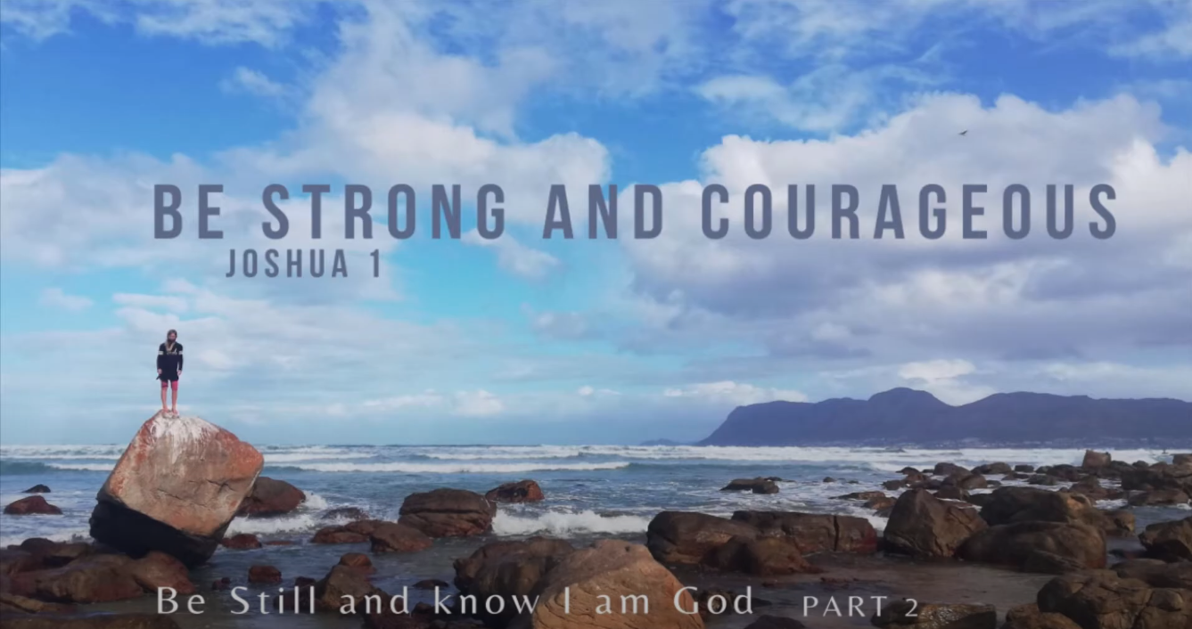 Be still and know that I am God – 2