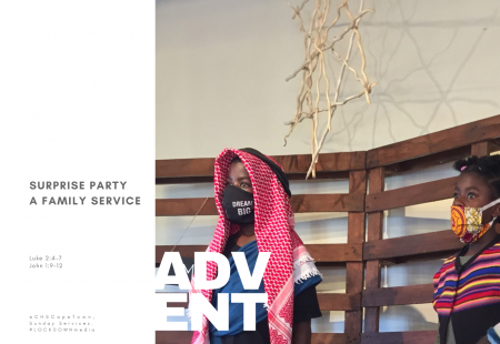 Surprise Party – A Family Service: 20 December 2020