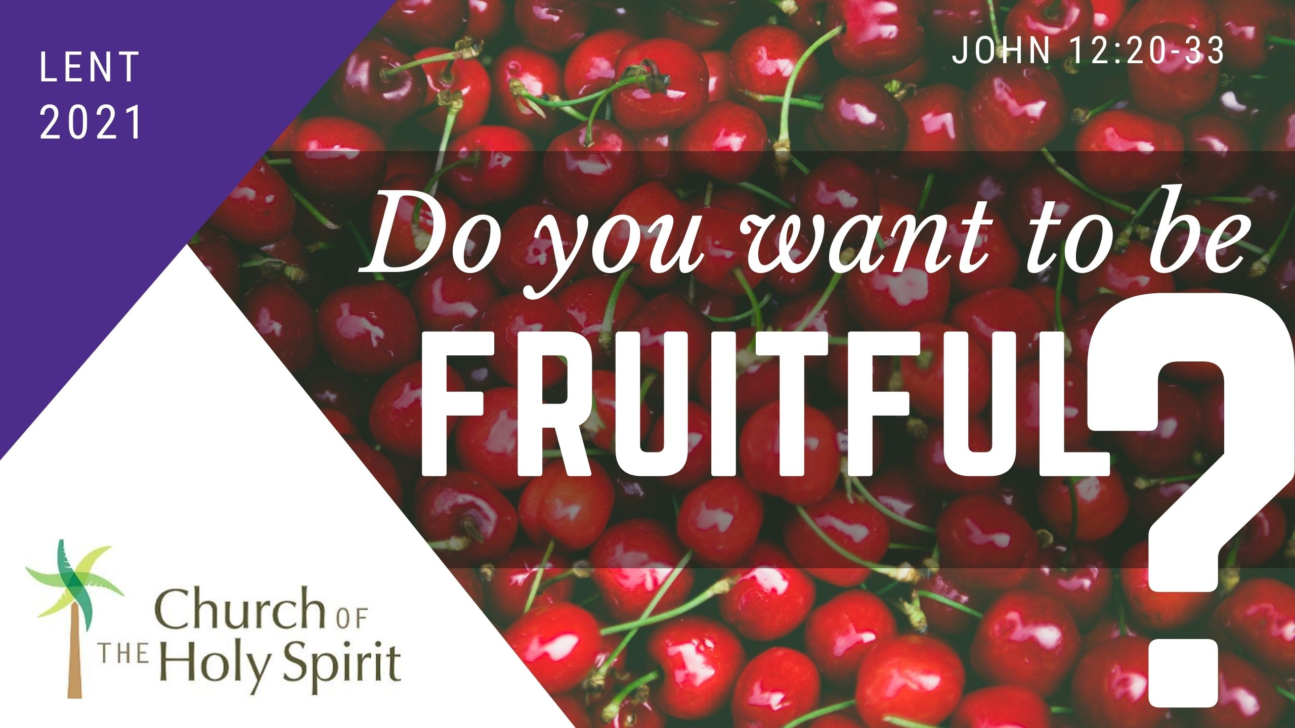 Do you want to be Fruitful