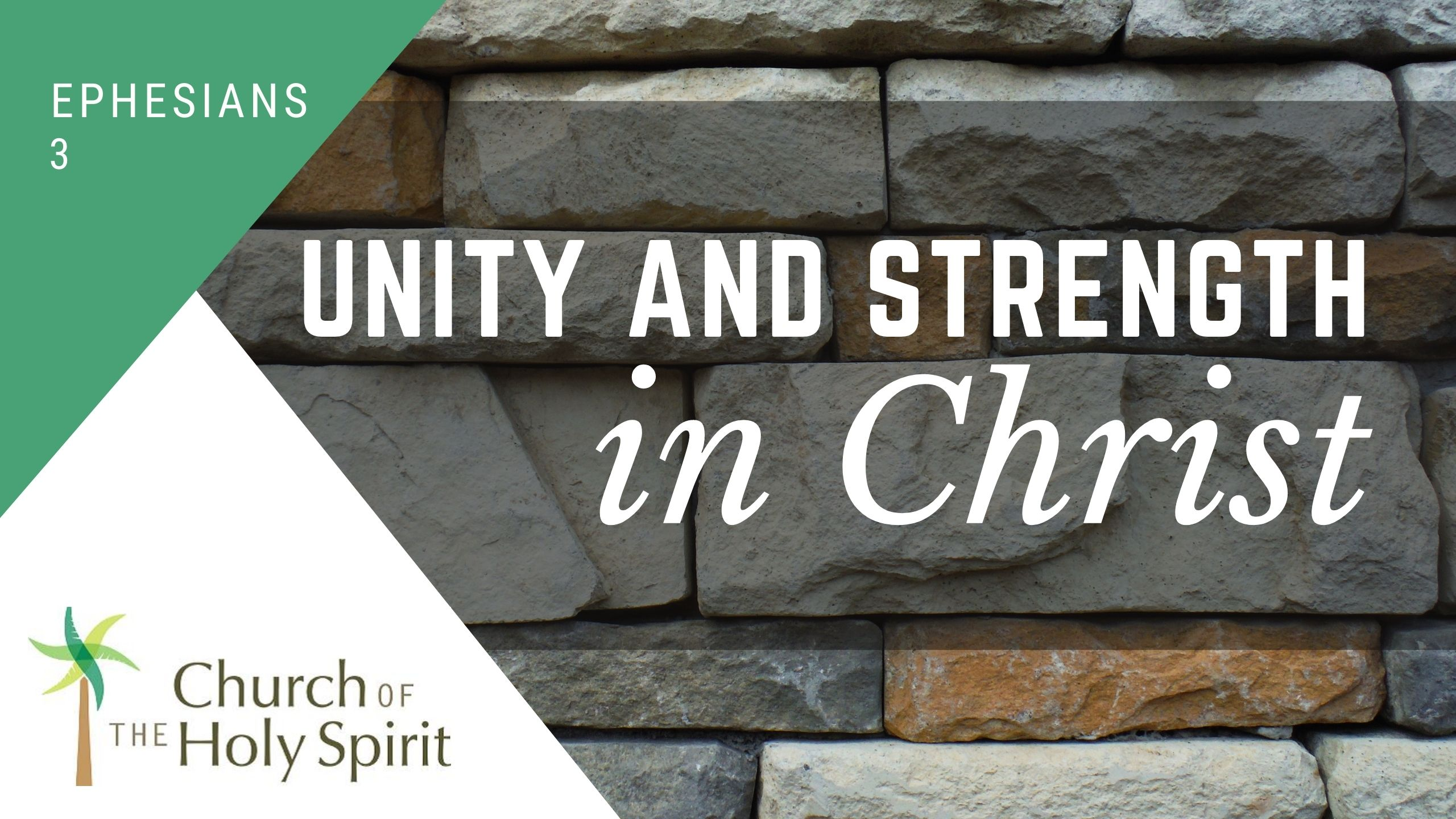 Strengthened in Christ