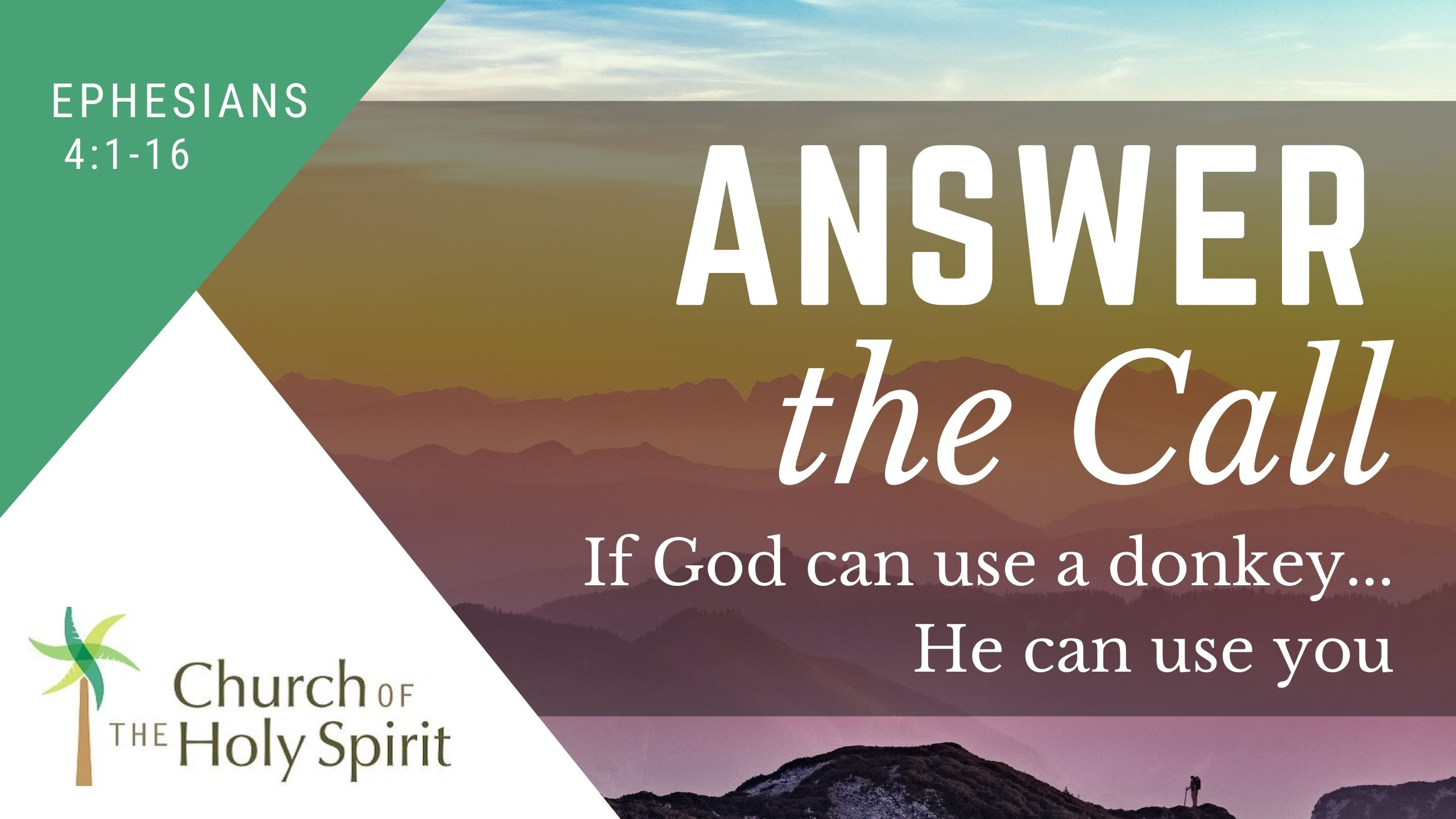 Answer the Call