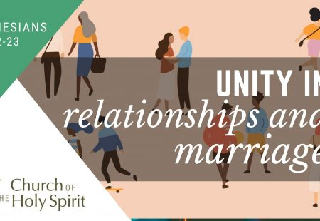 Unity in relationships and marriage